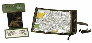 """Lightweight Camouflage Map & Document Case - Keep Your Maps & Paper Dry 13"""" Camo"""
