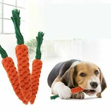 Pet fabric Carrot Toys Dog Cat Puppy Chew Teething Toys Treat Chew Toy Training