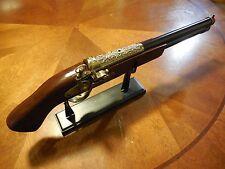Replica Antique Pistol Table Gun w/Stand - Model 1688 -  17th Century Decor New