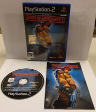 Gioco Game SONY Playstation 2 PS2 Play PAL ITALIANO - STATE OF EMERGENCY 2 - ITA