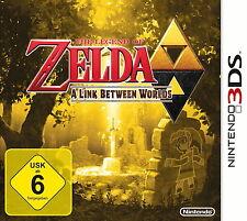 The Legend Of Zelda: A Link Between Worlds (Nintendo 3DS, 2013, Keep Case)