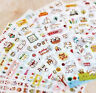 FD1607 Cat Animal Sticker DIY Decor Stationery Reward Stickers ~Random 1 Sheet G