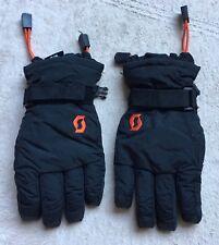 Scott Kids' Gloves, Black, Warm, Ski, Snow, EUC