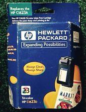 HP 23 C1823D TRI-COLOR INK CARTRIDGE, DESKJET COLOR COPIER OFFICEJET PRO, OEM