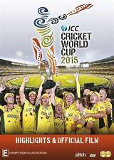 2015 ICC Cricket World Cup (DVD, 2015, 2-Disc Set) BRAND NEW