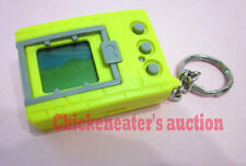1997 BANDAI DIGIMON DIGIVICE DIGITAL MONSTER GAME YELLOW *NICE* ENGLISH KEYCHAIN
