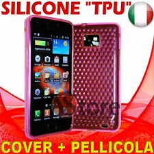 Cover Gel Fuchsia for SAMSUNG Galaxy S2 2 II I9100 silicone