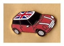 union jack red mini car lapel badge united kingdom loyalist Enamel