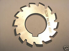 "NOS CANADIAN made 2-1/4"" Dia. HSS Involute Gear Cutter 24 DP 14.5 PA  #8 CTR"