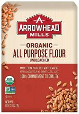 Arrowhead Mills Organic All-Purpose Flour 5 LB Unbleached - FREE SHIPPING