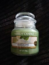 new Yankee Candle vanilla lime  - small  jar - lovely gift