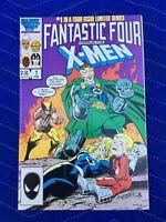 FANTASTIC FOUR VS. THE X-MEN #1 NEAR MINT CONDITION MARVEL COMIC BOOK FEB 1987