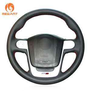 Durable Black Artificial Leather Steering Wheel Cover Wrap for MG3 MG 3