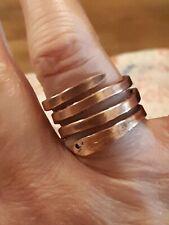 Serpent copper handmade  ring