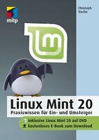 LINUX Mint 20 Buch - Inkl. DVD und kostenlosem E-Book +++ Direkt vom Verlag +++