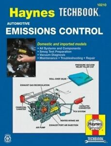 Haynes Techbook - Emissions Control 10210 * Ships Worldwide & FREE to USA! RARE!