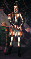 "oil painting handpainted on canvas ""  King Sebastian of Portugal (1554-1578)"""