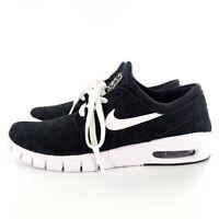 Nike SB Stefan Janoski Max Athletic Shoes Youth Boys 6.5 Black/White 631303-010
