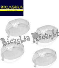 7554 - KIT GEMME BIANCHE PER FRECCE YAMAHA 50 BW'S 2004 - MBK BOOSTER 2004