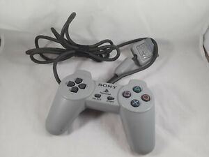 Sony PlayStation PS1 Official OEM Grey Controller SCPH-1080