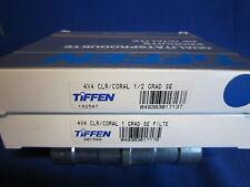 TIFFEN  4x4  CORAL GRAD SE  1/2,1  (LOT OF 2)