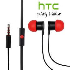 Genuine HTC 10 One A9 M9 M8 M7 Stereo Earphone Headphone Headset Handsfree Red