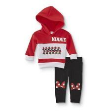 Children's Apparel Minnie Mouse Infant Girls' Hooded Sweatshirt & Leggings NWT