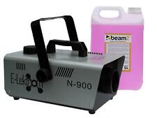 900W NEBELMASCHINE DJ Party Smoke Maschine E-Lektron N-900 inkl. 5L Nebelfluid