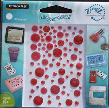 Fiskars ZingZ Sticker Accents - Red Circles