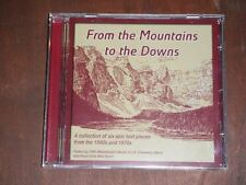 From the Mountains to the Downs - Six Epic Test Pieces from 60s and 70s (CD)