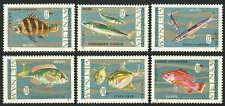 Viet Nam 463-468, Mi 485-490, MNH Poisson, 1967