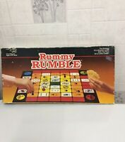 Uno Rummy Rumble Strategy Board Game Fully Complete