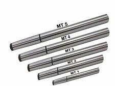 New listing Lathe Alignment Test Bars Mt1 Mt2 Mt3 Mt4 Mt5 - Alloy Steel 5 Piece Combo Set