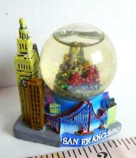 San Francisco Snow globe mini Water Ball Golden Gate Trans America Trolley