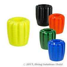 Scuba Diving Tank Knob Long Black Blue Green Orange Yellow