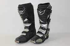 Berik Ricky Carmichael RC #4 Mens 12 Black Gray Motocross Off Road Riding Boots