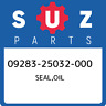 09283-25032-000 Suzuki Seal,oil 0928325032000, New Genuine OEM Part