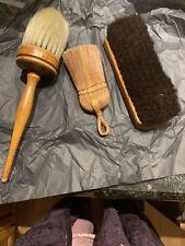 Set Of 3 Antique Clothing Brushes