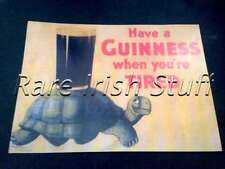 1936 Have A Guinness When You're Tired - Irish Pub and Bar Gilroy Poster Print