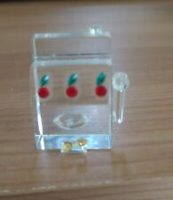 Swarovski Crystal Slot Machine great collectable for casino lovers