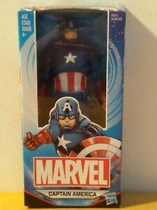 "Hasbro Marvel Comics Captain America Figurine 6""  New"