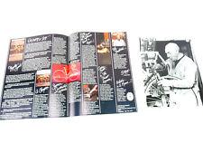 Masi Catalog USA With Faliero Masi Autograph Print Vintage Gran Criterium NOS