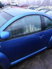 VW Beetle Tür links LW5Y blau