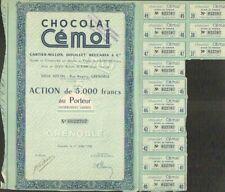 """RARE => CHOCOLAT """"CEMOI"""" (GRENOBLE 38) (A)"""