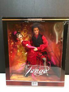 Barbie Ken Exclusive Limited Edition FAO Schwarz Tango Gift Set - 2002- NEW