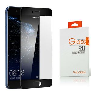 Nacodex HD Full Cover Tempered Glass Screen Protector For Huawei P10