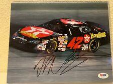 Juan Pablo Montoya Signed NASCAR 8x10 Photo PSA/DNA