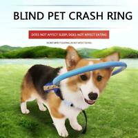 1X Blind Dog Harness Vest Blind Dogs Vest Ring for Dogs with Sick Eyes Pet Sizes