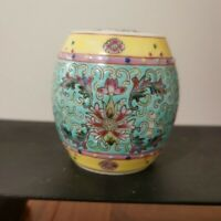 Chinese Antique Hand-Painting famille-rose porcelain jar