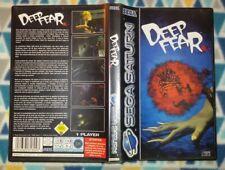 Deep Fear Sega Saturn Pal España